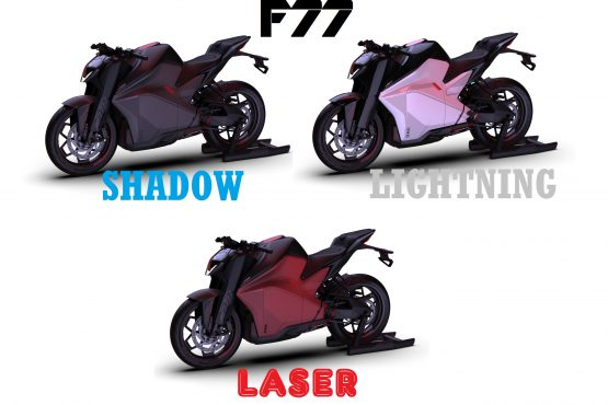 Ultraviolette F77 electric motorcycle
