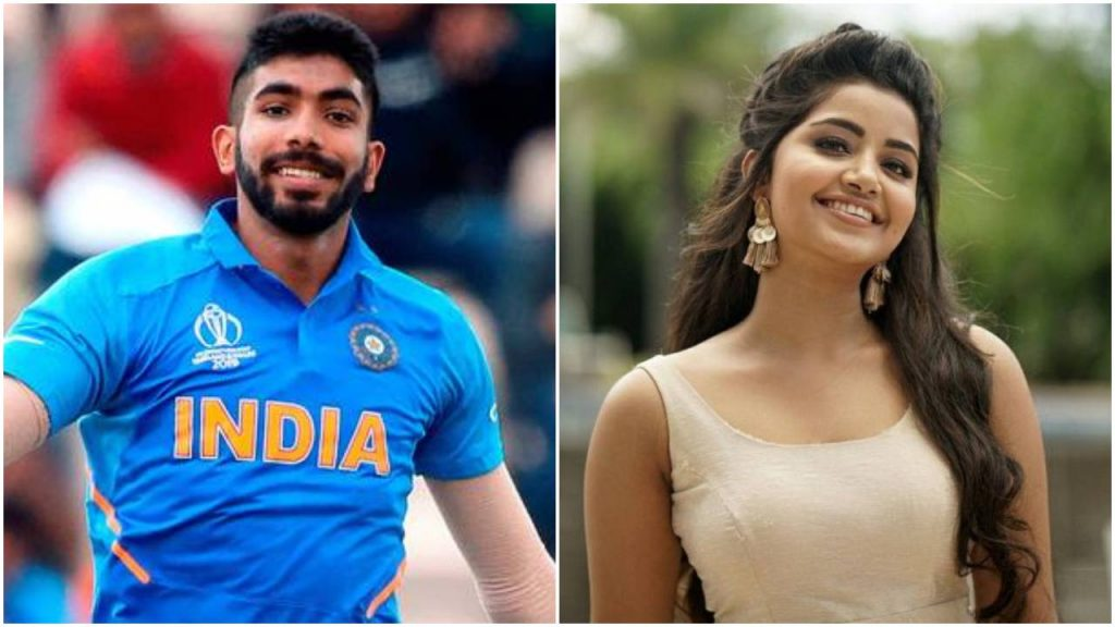 jasprit bumrah girlfriend